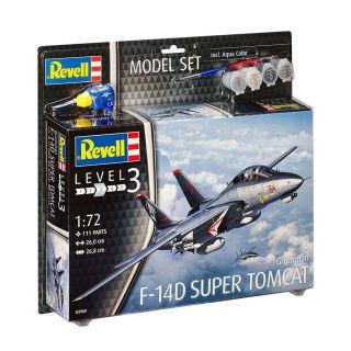 Revell Model Set Grumman F-14D Super Tomcat Airplane