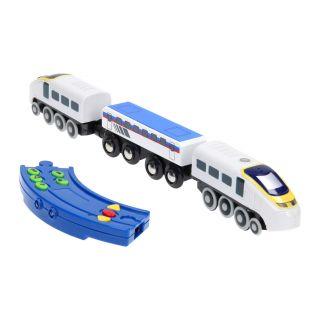 Locomotive with remote control
