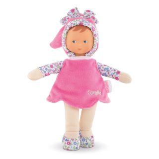 Mon Doudou Corolle Flowers - Miss Pink, 25 cm