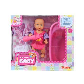 Mini New Born Baby in bath Set