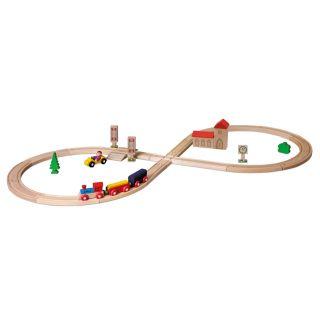 Eichhorn Train Set with Accessories, 35dlg.