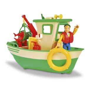 Fireman Sam Charlie's Fishing Boat
