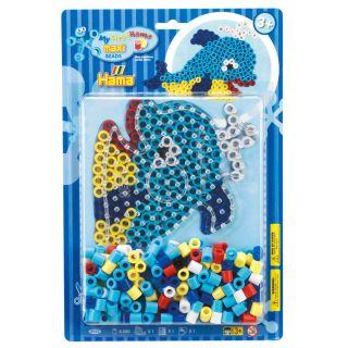 Hama Iron-on bead set Maxi Dolphin, 250 pcs.