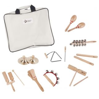Classic World 9 Musical Instruments with Storage Bag