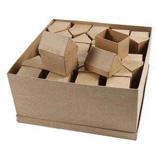 Storage boxes House Papier mache, 40pcs.