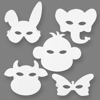 Craft Masks Animals, 16st.
