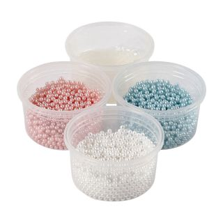 Pearl Clay Set - Blue, Pink, White
