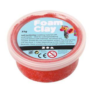 Foam Clay - Red, 35gr.