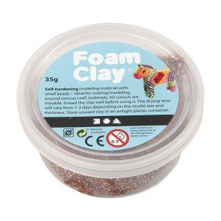 Foam Clay - Brown, 35gr.