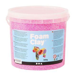 Foam Clay - Neon Pink, 560gr.