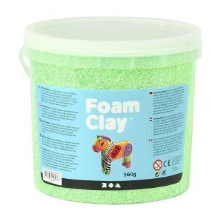 Foam Clay - Neon Green, 560gr.