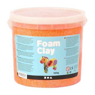 Foam Clay - Neon Orange, 560gr.