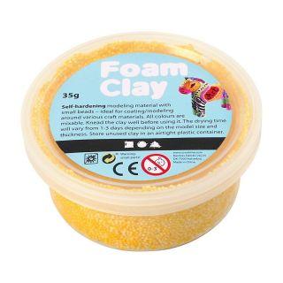 Foam Clay - Yellow, 35gr.