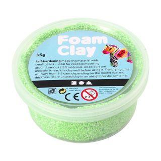 Foam Clay - Neon Green, 35gr.