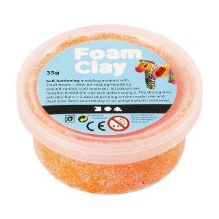 Foam Clay - Neon Orange, 35gr.