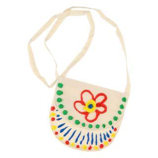 Decorate your own shoulder bag - Light natural