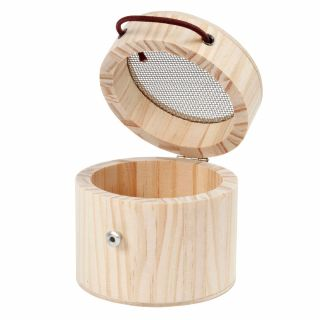 Wooden Insect Cage Round