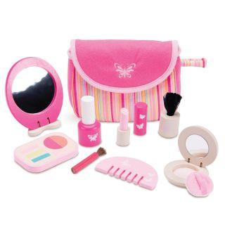 Wooden Make-up Set Pink