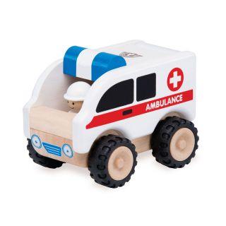 Wonderworld Wooden Ambulance