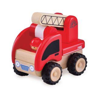 Wonderworld Wooden Mini Fire Truck