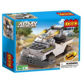 COGO-Army Peacekeeper-Jeep, 3 in 1