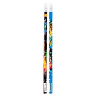 Pencils with Eraser Hot Wheels, 48pcs.