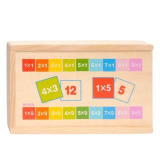 Wooden Computing domino-Multiplication