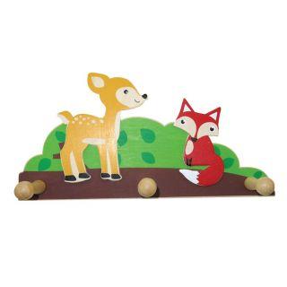 Wooden coat rack - Fox