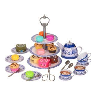 Tea set with Etagère