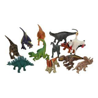 Dinosaur Luxury Playset, 12 pieces.