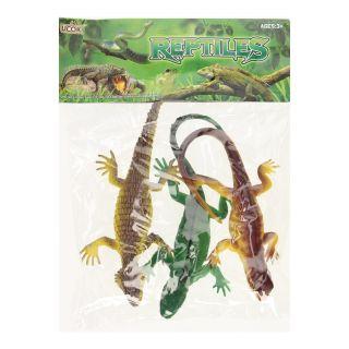 Reptile Playset, 3dlg.