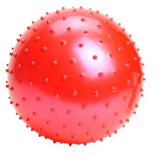 Colored ball stud, +/- 18 cm