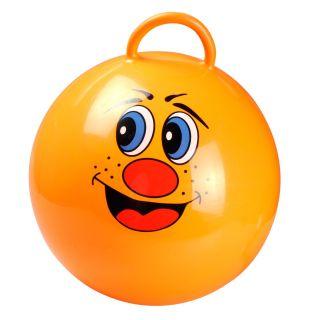 Orange Skippyball Laugh, Ø 55 cm