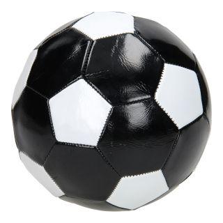 Children's football Black / White