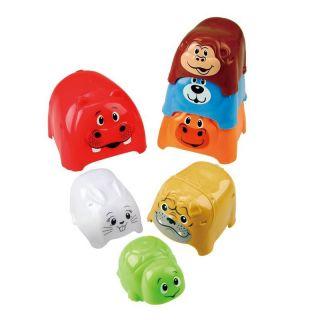 PlayGo Stacking Blocks Animal, 7dlg.