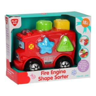 Playgo Shapes Sorter Fire Truck