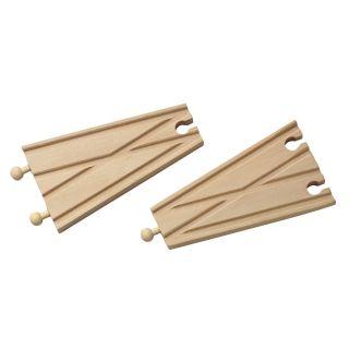 Wooden Rails - Switches, 2pcs.