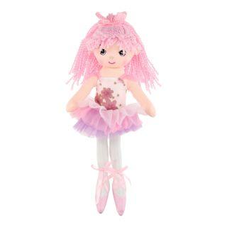 Rag doll Ballerina, 40 cm - Light pink